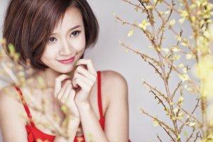 Cẩm Lynh đóng phim ma với Quốc Thái
