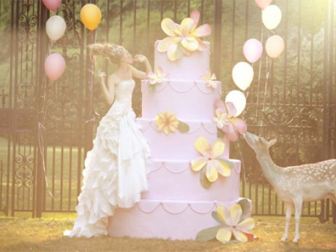 Lộng lẫy trong ngày cưới